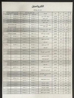 قیمت روز یخچال فریزر الکترواستیل