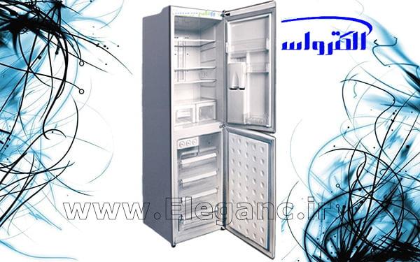 یخچال فریزر الکترواستیل تیتانیوم