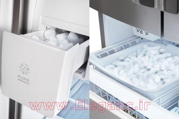 یخچال یخساز الکترواستیل