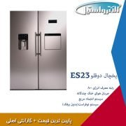 قیمت یخچال دوقلوی الکترواستیل یخساز اتومات(پالادیوم)