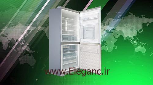 خرید یخچال فریزر الکترواستیل es35 بدون یخساز